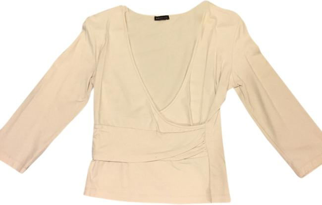 Preload https://item2.tradesy.com/images/bcbgmaxazria-cream-night-out-top-size-4-s-1997556-0-0.jpg?width=400&height=650
