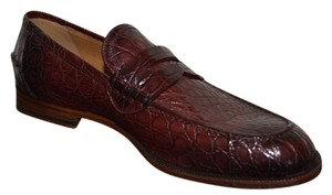 Gucci Mens Mens Loafers Caiman Loafers Alligator Crocodile Formal