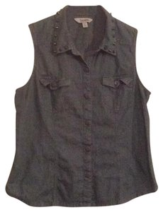 Decree Button Down Shirt Denim