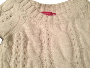 Saks Fifth Avenue Cashmere Ave Cream Sweater