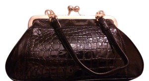 Bolzano Black Clutch