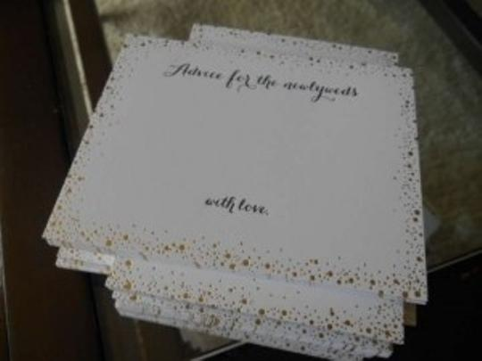 Preload https://item4.tradesy.com/images/bhldn-white-with-gold-foil-confetti-advice-cards-199758-0-0.jpg?width=440&height=440