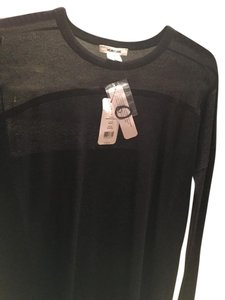 Helmut Lang Cashmere Blend Sheer Sweater