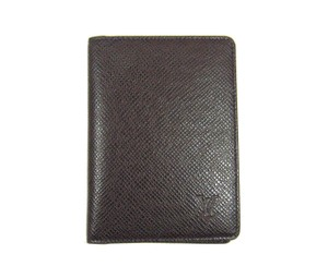 Louis Vuitton Taiga Leather Porte 2 Cartes Slim Credit ID Wallet