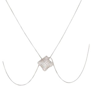 David Yurman DAVID YURMAN DIAMOND QUATREFOIL PENDANT NECKLACE
