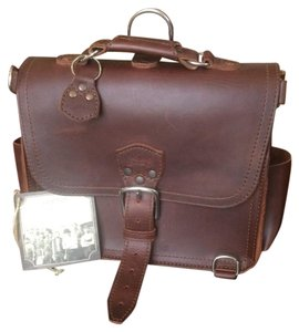 Saddleback Leather Co Satchel in Chestnut