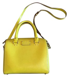 Kate Spade Satchel in Bright Yellow
