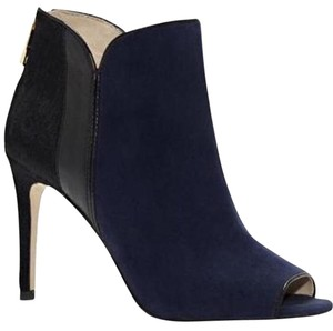 Louise et Cie Navy and Black Boots