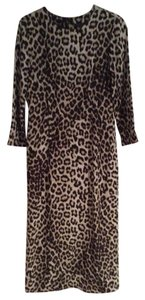 Rag & Bone Leopard Silk Dress