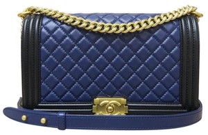 Chanel Like New Medium Le Boy Shoulder Bag