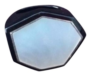 Ippolita size 7, sterling silver, black resin, Mother Of Pearl, Hexagon ring