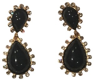 Kenneth Jay Lane Kenneth Jay Lane Double Teardrop Earrings