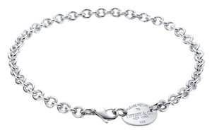Tiffany & Co. Tiffany & Co. Return to Tiffany Oval Tag Necklace