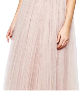 Little Mistress Maxi Skirt Champagne