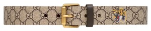 Gucci Tiger print GG Supreme belt Multiple Sizes