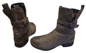 Brn Leather Comfortable Ankle brown Boots