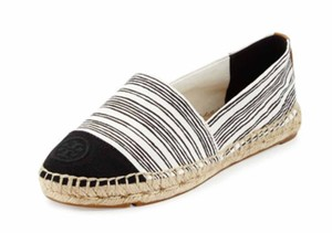 Tory Burch Black/Ivory Flats