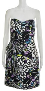 Matthew Williamson Embellished Silk Strapless Dress