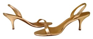 J.Crew Metallic gold Sandals