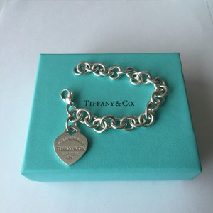 Tiffany & Co. Return To Tiffany Silver Heart Tag Link 7
