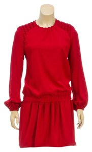 Isabel Marant short dress Cranberry on Tradesy