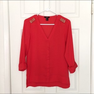 H&M Red Top Red, Bronze