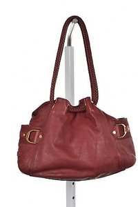 Cole Haan Womens Satchel in Brick Red