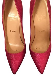 Christian Louboutin Sparkly Pink Pumps