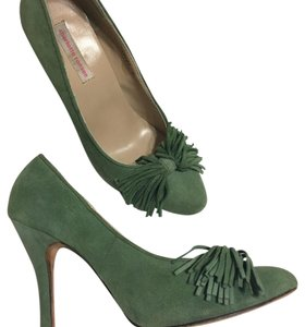 Charlotte Ronson Green Pumps