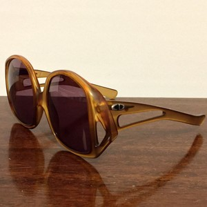 Dior Christian Dior Made In Germany Oversized 70s Sunglasses
