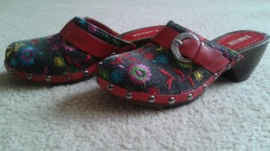 Lobster Bohemian Multicoloured Mules