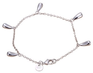 Sears FREE SHIPPING!!! NEW Sterling Silver Dangling Teardrop Bracelet, Marked 925 Sterling Silver, Inspired by Tiffany