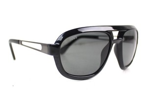 Tod's Black Aviator Sunglasses New TO11