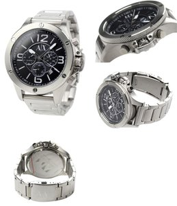armani exchange Armani Exchange AX1501 Men's Chronograph Subdials Stainless Steel Watch