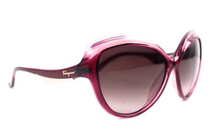 Salvatore Ferragamo Pink Gradient Sunglasses New SF705S