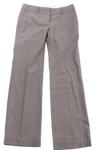 Ann Taylor LOFT Pinstrl Marisa Fit Straight Pants Gray