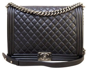 Chanel Large Le Boy Shoulder Bag