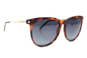 Saint Laurent Wayfarer Tortoise Sunglasses New SL24