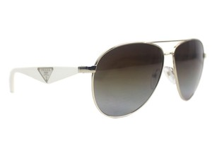 Prada Polarized Aviator Sunglasses New SPR53Q