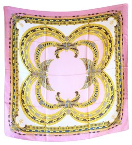 Cartier Authentic Vintage Cartier Pink Scarf/Shawl