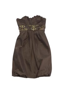 Kay Unger short dress Brown Sequin Empire Waist on Tradesy