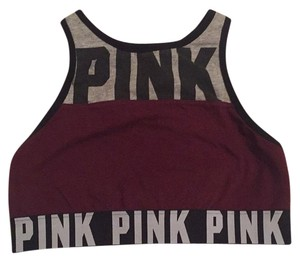 PINK PINK Logo High Neck Bra Top