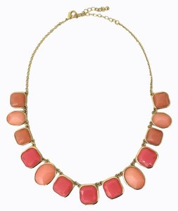 Pink & Gold Jeweled Necklace