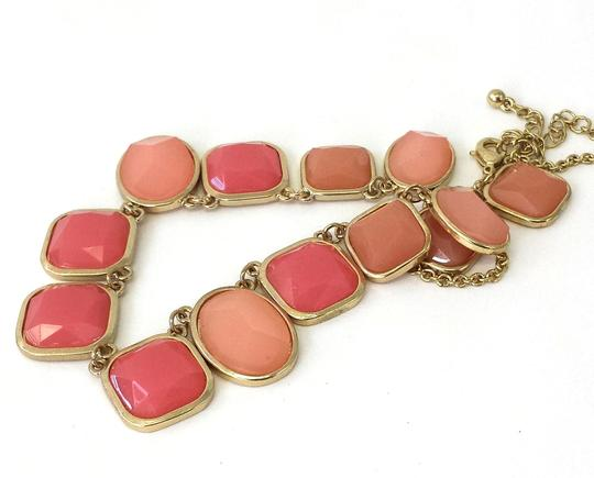Other Pink & Gold Jeweled Necklace