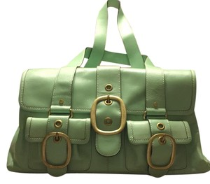 Banana Republic Satchel in Green