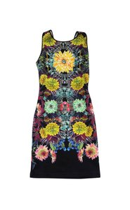 Clover Canyon short dress Floral Print Neoprene on Tradesy