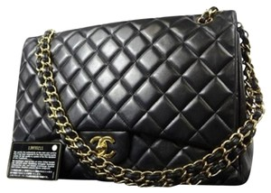 Chanel Maxi Jumbo Classic Flap Ghw Shoulder Bag