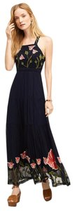 Maxi Dress by Anthropologie Maxi Embroidered