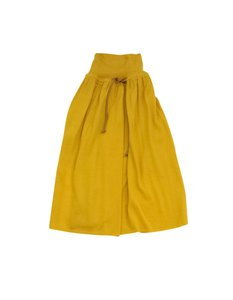 Fendi Mustard Yellow Wool Skirt