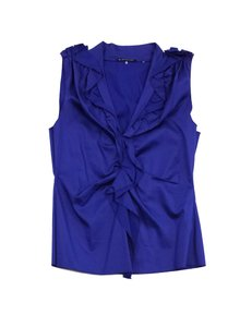 Elie Tahari Ruffled Top